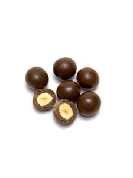 Фундук в шоколадной глазури-500гр