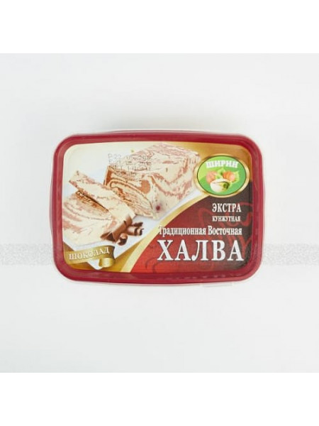 """Халва кунжутная с шоколадом """"Экстра"""" (300гр) - 1 шт"""